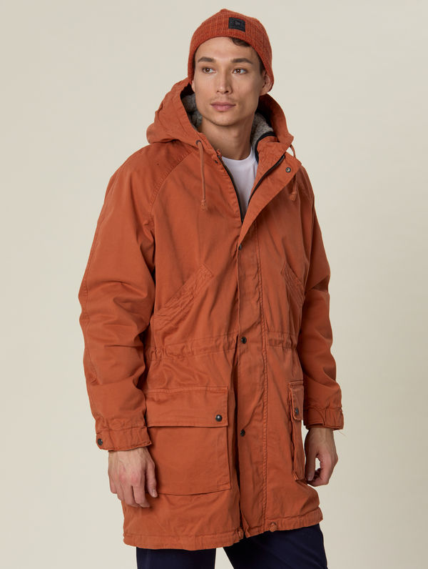 Classic Parka (gray lining) orange