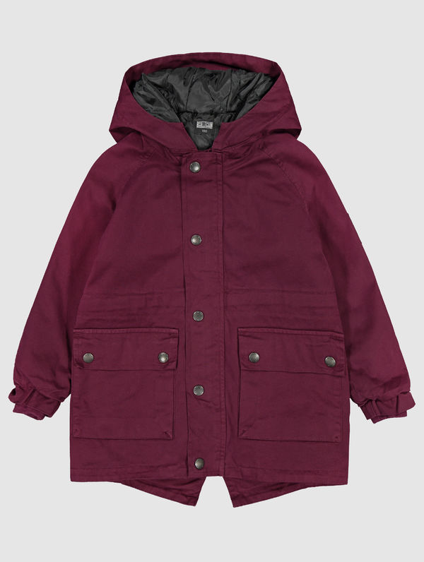 Children's Parka burgundy
