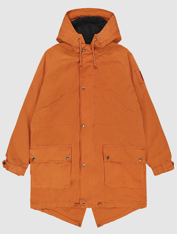 Classic Parka (black lining) orange