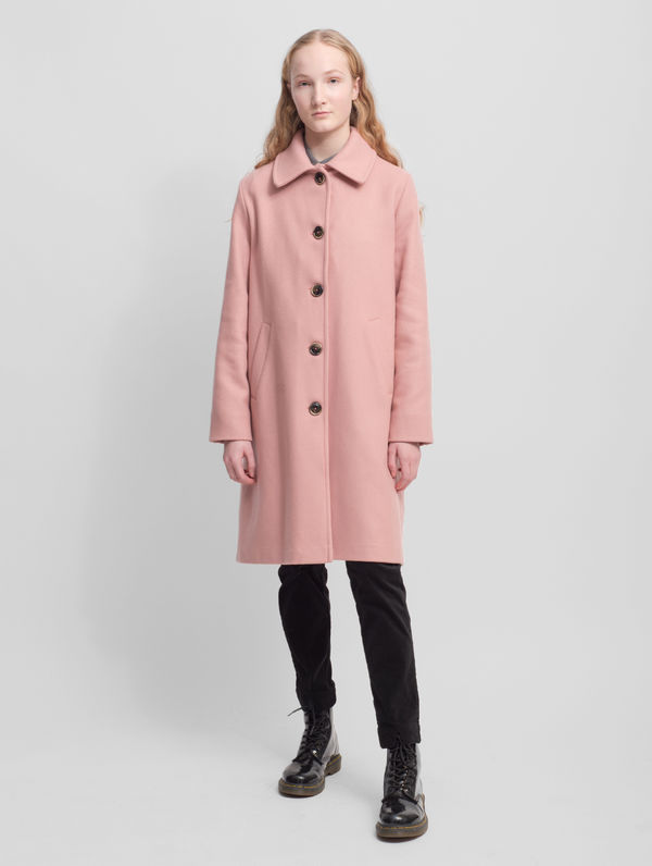 Aune Coat misty rose