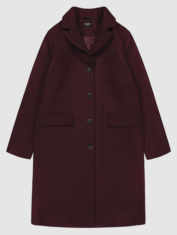 Matilda Coat burgundy