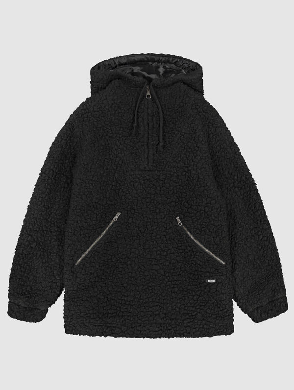 Teddy Anorak black