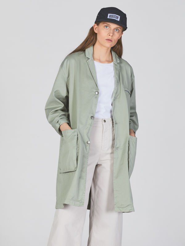 Roos Jacket fog green