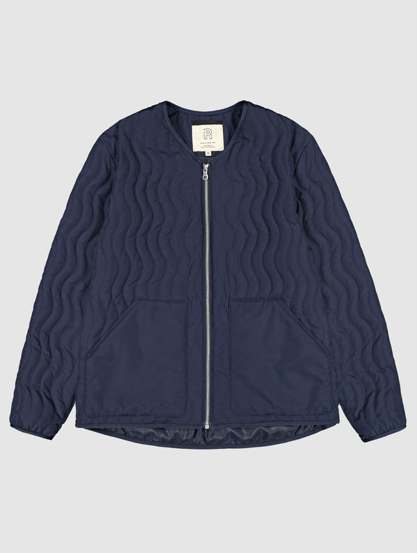 Antton Quilt Jacket ink blue