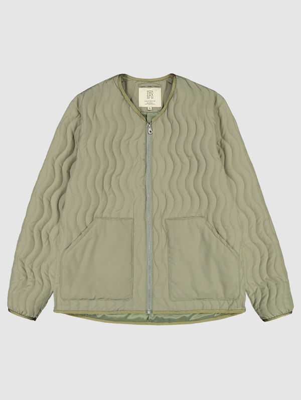 Antton Quilt Jacket light moss green