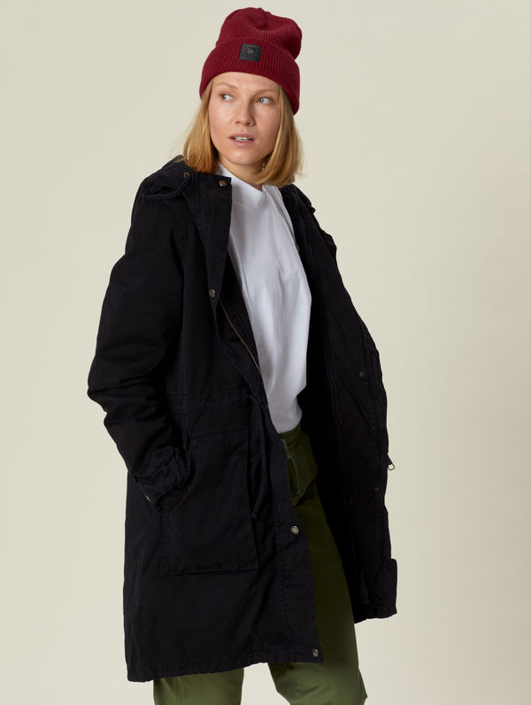 Women's Winter Parka black