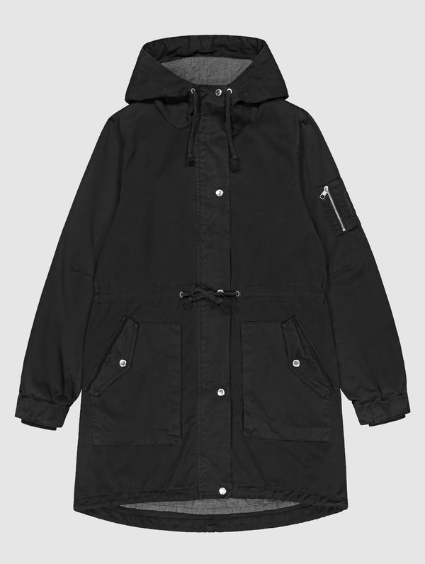 Women's Light Parka black