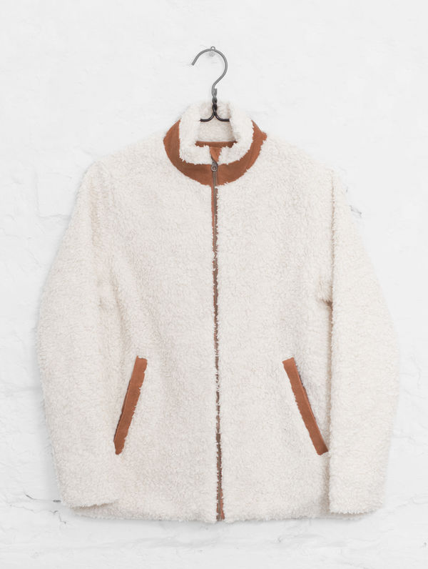 Teddy Jacket cream