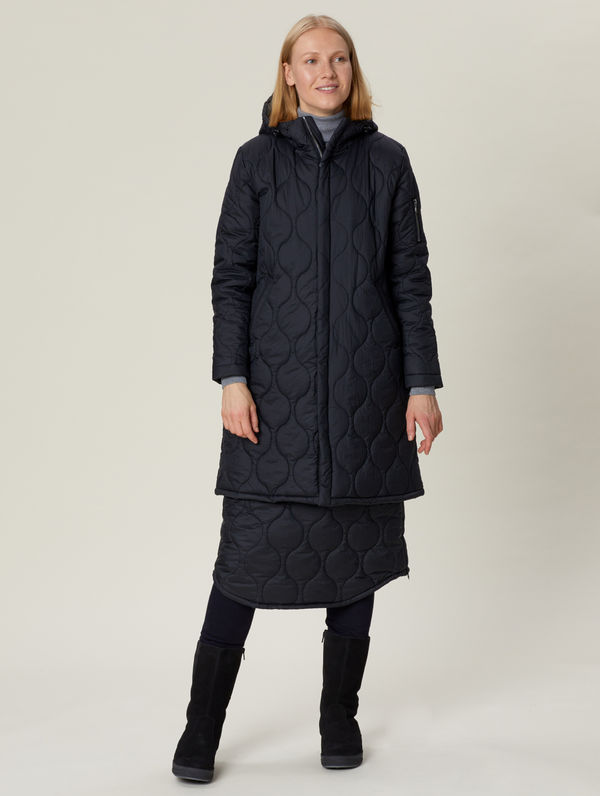 Iisalmi Quilt Jacket black