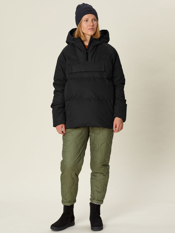 Sotkamo Down Anorak black