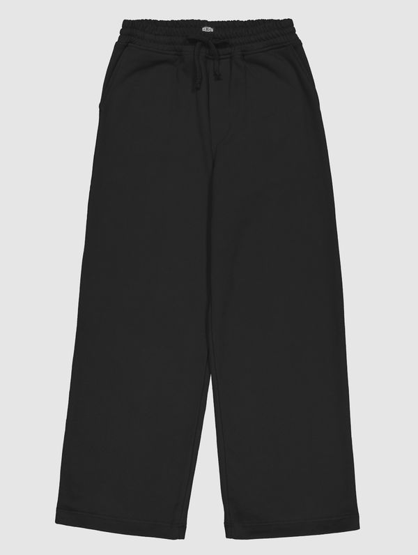 Women's Wide-legged Sweatpants black