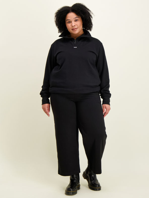 Sweatpant Culottes black