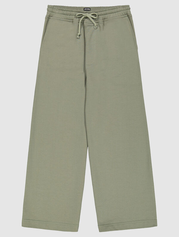 Sweatpant Culottes light moss green