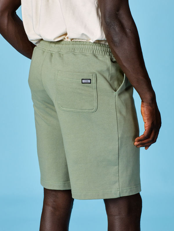 Sweat Shorts light moss green