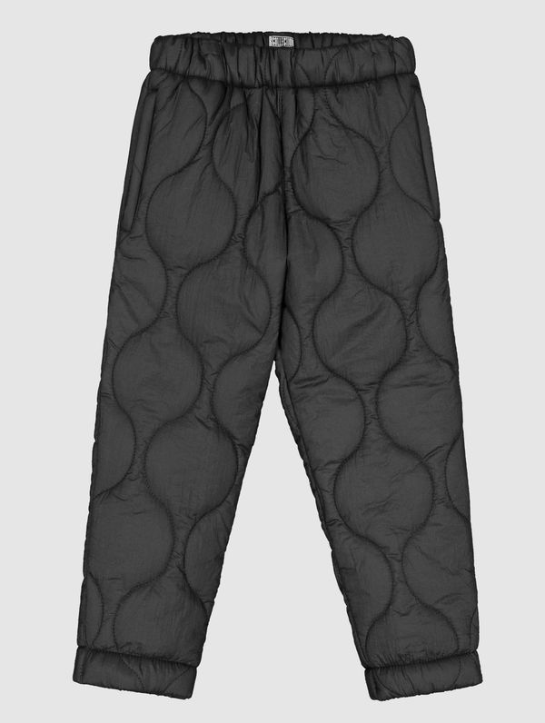 Children's Quilted Trousers black