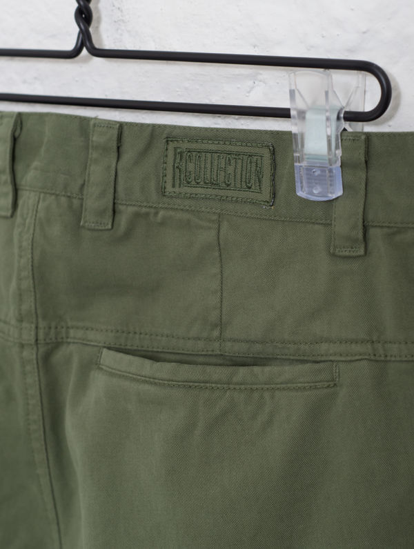 Chino Trousers moss green