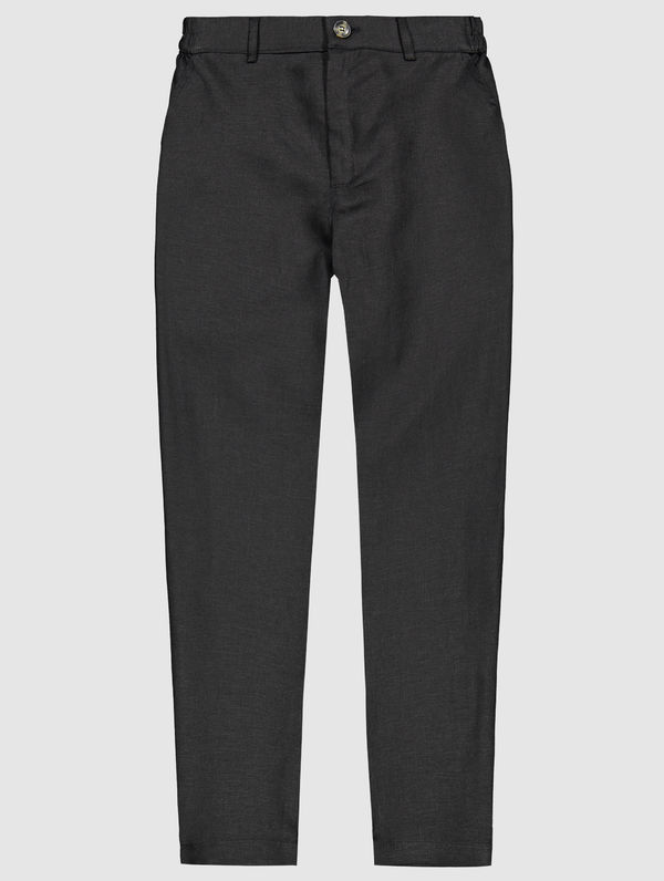 Pia Linen Trousers black