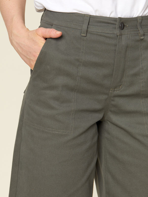 Madge Trousers moss green
