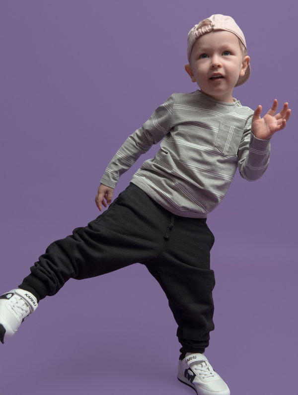 Children's Mini Sweatpants black