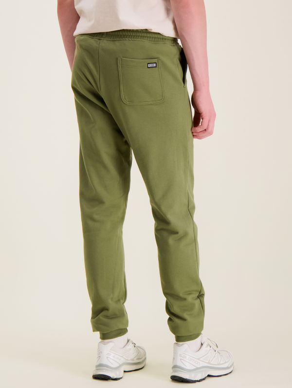 Slim Sweatpants moss green