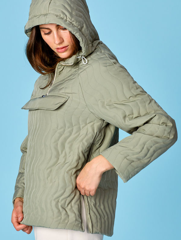 Tikki Anorak light moss green