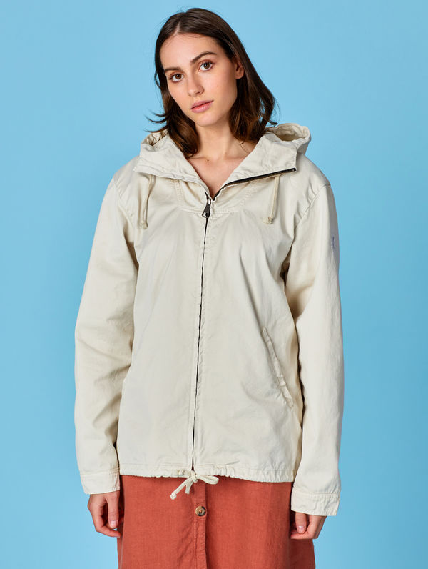 Zipper Anorak birch