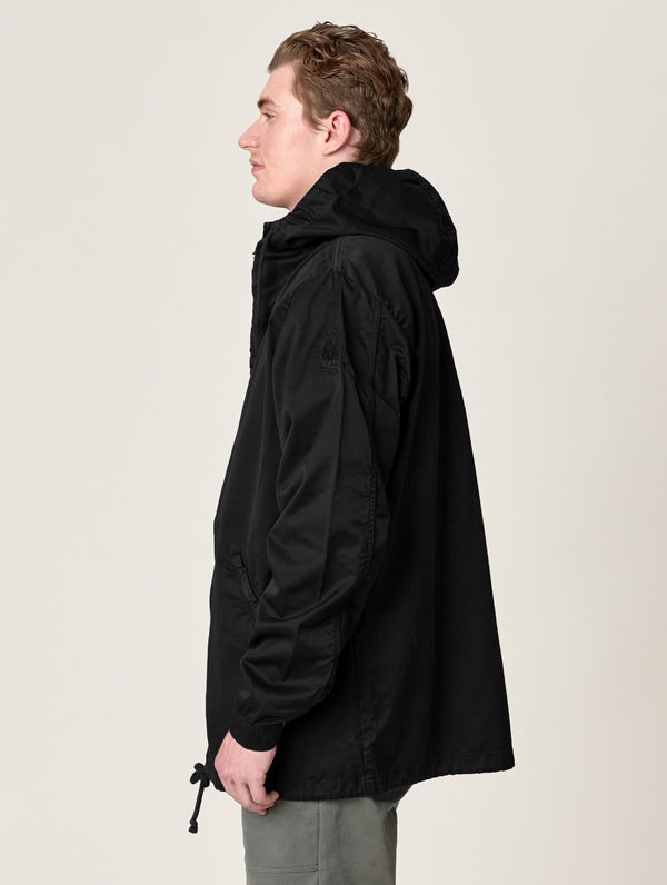 Zipper Anorak black