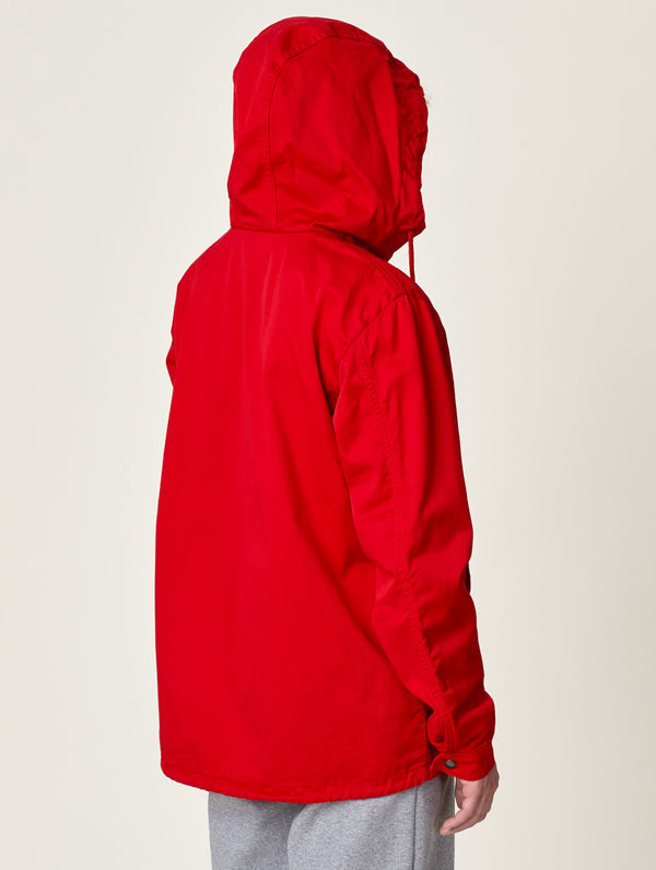 Zipper Anorak red
