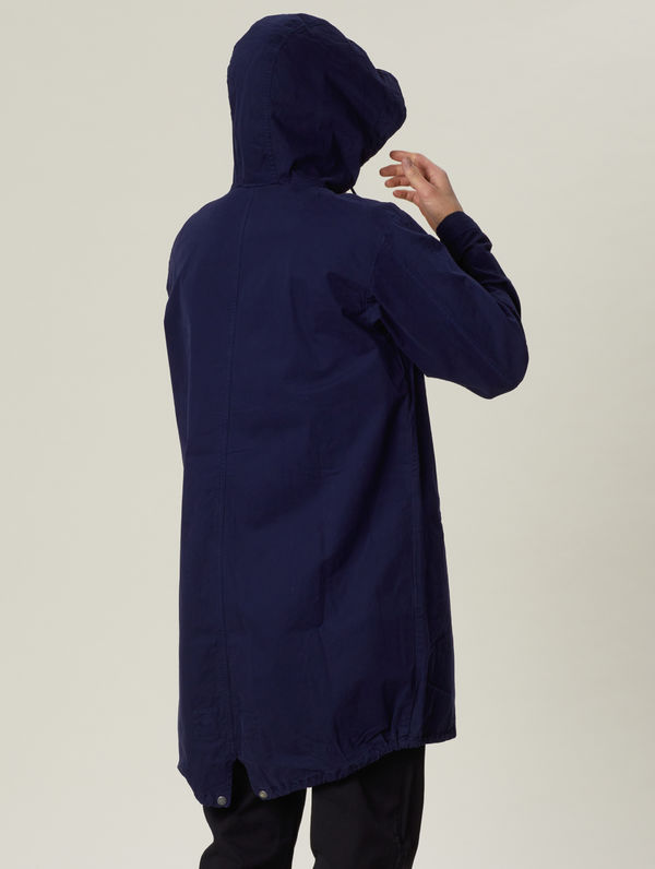 Maxi Anorak ink blue