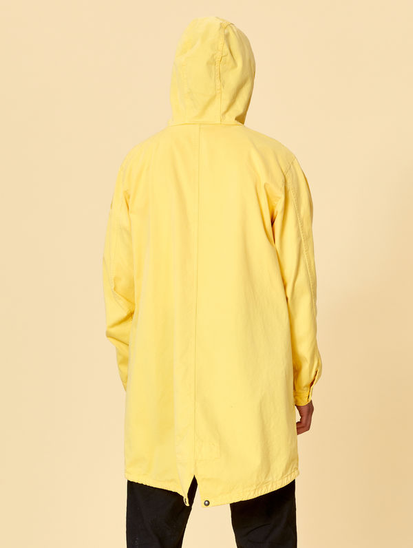Maxi Anorak light yellow