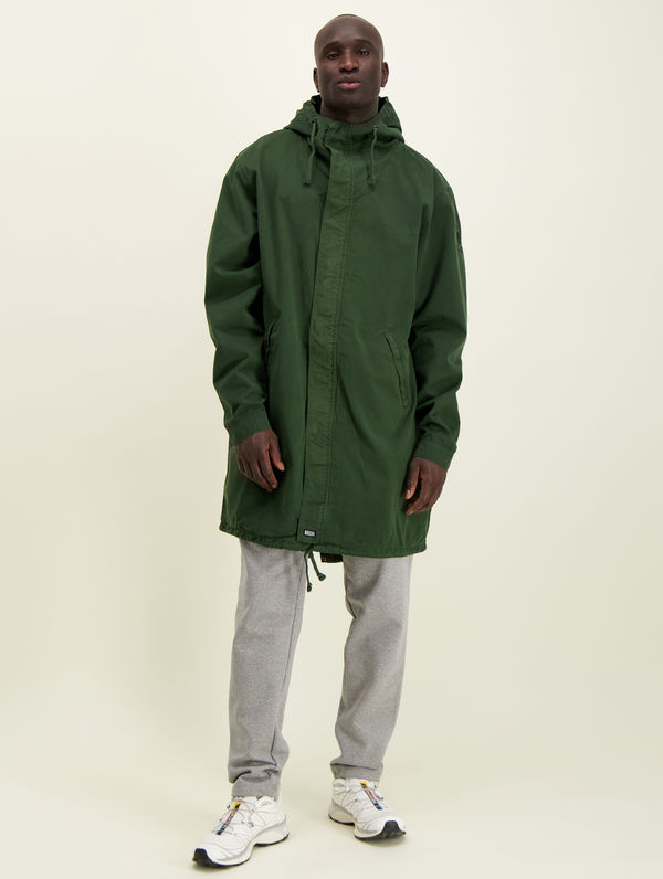 Maxi Anorak forest green