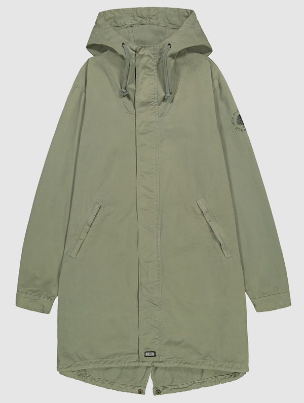 Maxi Anorak light moss green