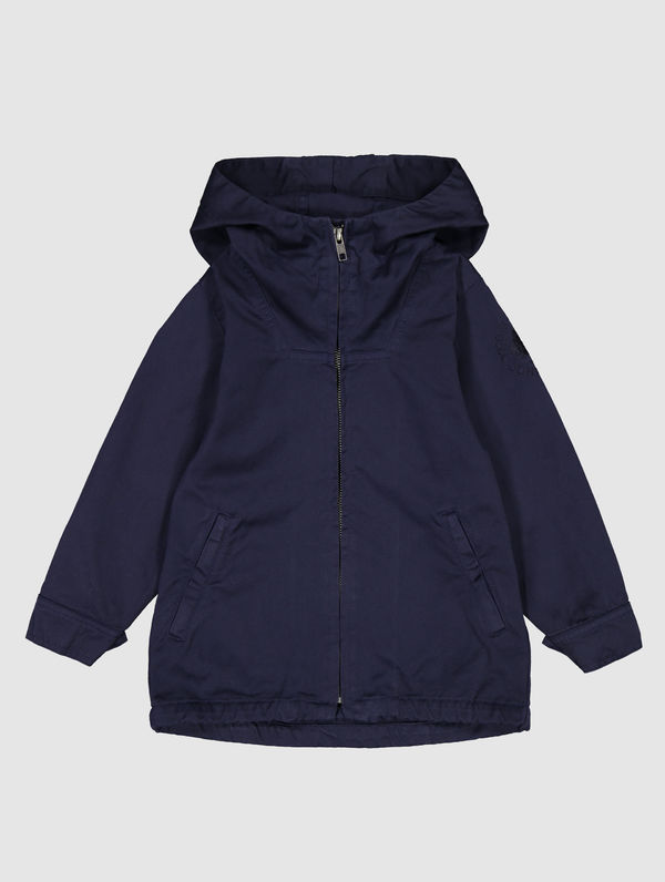 Children's Zipper Anorak ink blue