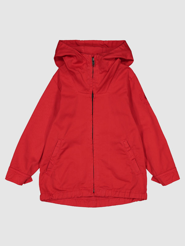 Children's Zipper Anorak red