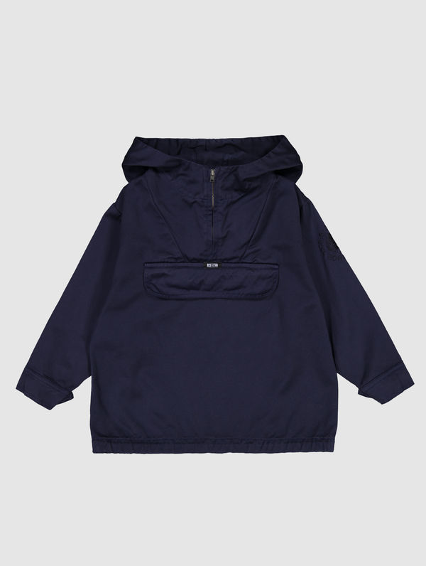 Children's Anorak ink blue