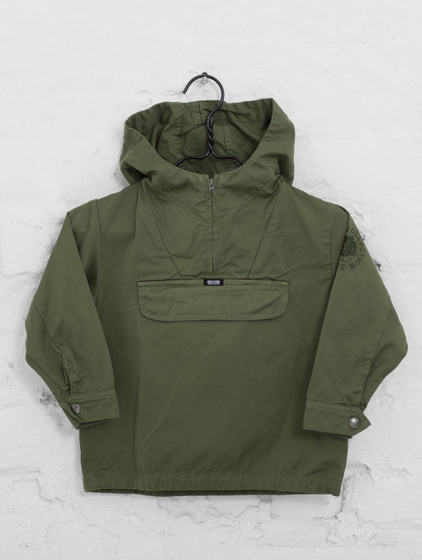 Children's Anorak moss green
