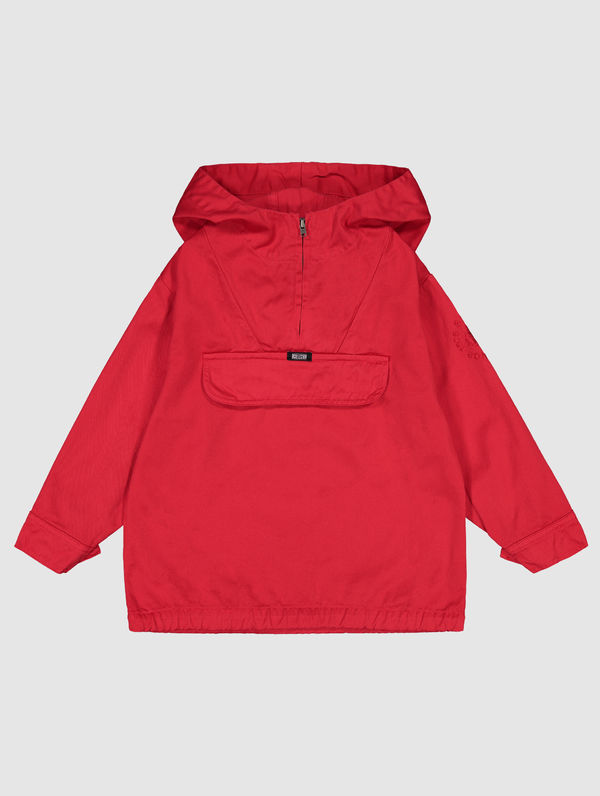 Children's Anorak red