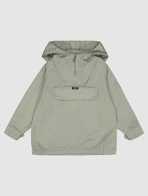 Children's Anorak fog green