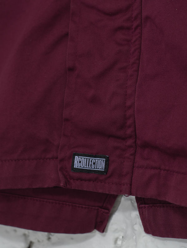 Children's Maxi Anorak burgundy
