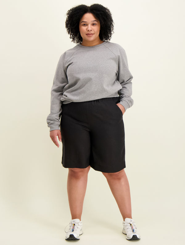 Lilja Linen Shorts black