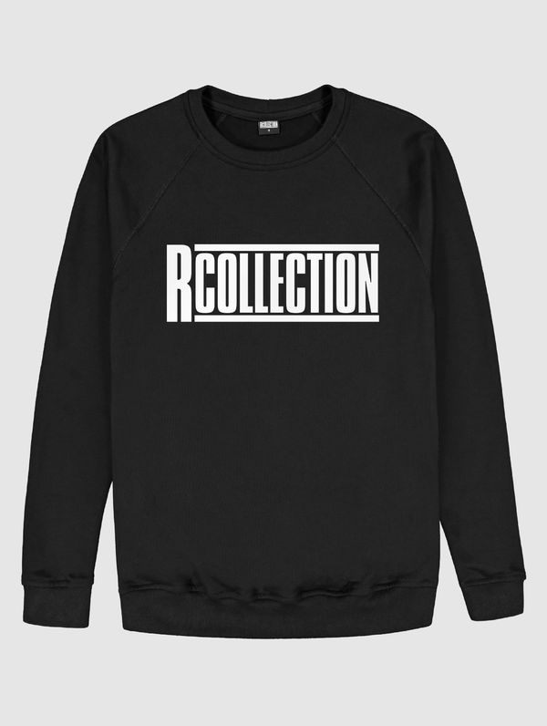 Women's logo Sweatshirt black / white RC