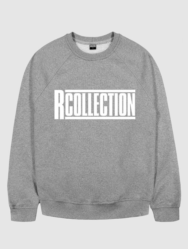 Logo Sweatshirt light grey melange / white RC