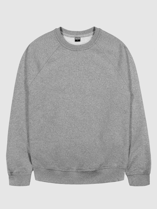 Sweatshirt light melange grey