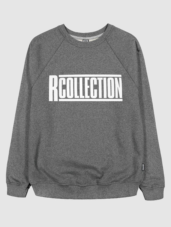 Logo Sweatshirt dark melange grey