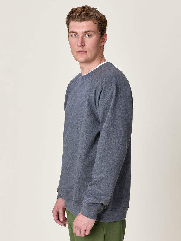 Sweatshirt dark melange grey