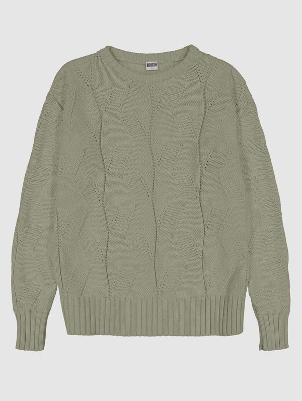 Marina Sweater light moss green