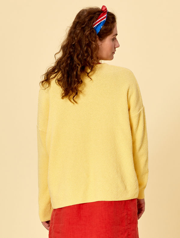 Amanda Sweater light yellow