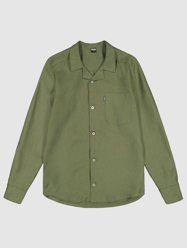Linus Shirt moss green