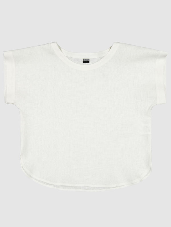 Sirja Linen Top white