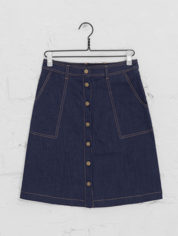 Madge Skirt denim blue